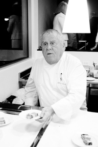 Chef Albert Roux, photos by Jeff Balke.
